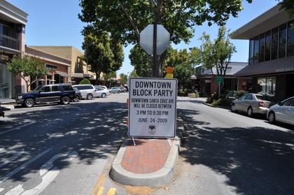 Block party tomorrow