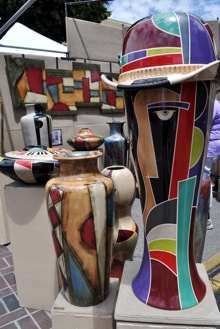 Eye-catching ceramics at Connoisseur's Marketplace