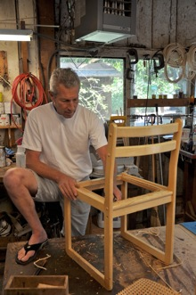 Thomas Kieninger - Barn Wood Shop - Allied Arts Guild - Menlo Park