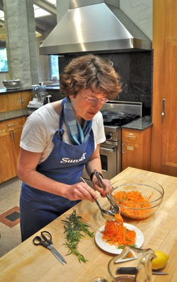 Associate food editor Elaine Johnson of Sunset magazine - Menlo Park