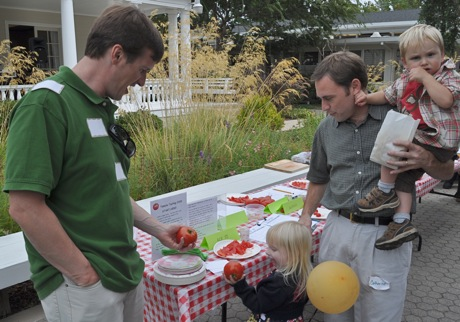 Fruits of Earth Day – it's a tomato tasting!