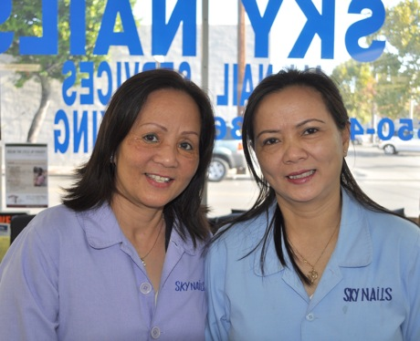 Post image for Faces of Menlo: Mai and Hellen of Sky Nails