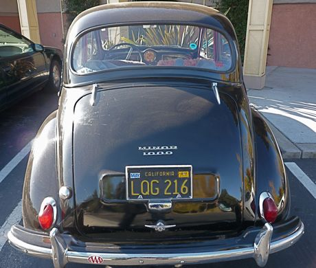 Morris Minor 1000 in Menlo Park