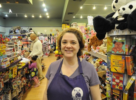 Anna Chow from Cheeky Monkey Toys in Menlo Park