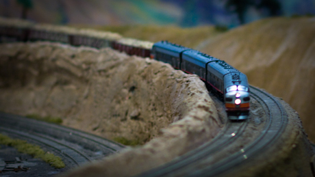 Riding the Rails and the West Bay Model Railroad's Christmas Show