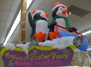 Trader Joe's features speical Menlo Park picks with these frozen choices overseen by penguins.
