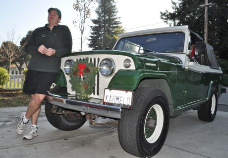 Post image for Garrett Gafke and his Kaiser  Jeepster