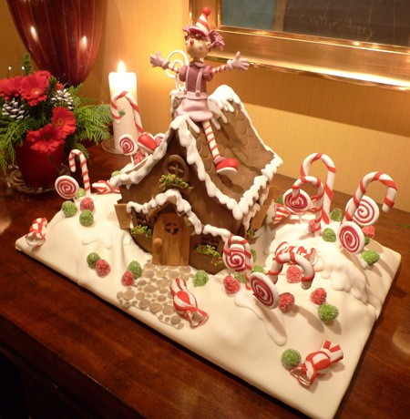 A work of Christmas art that's edible