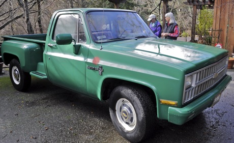 A special '81 Chevy – the Buddha mobile