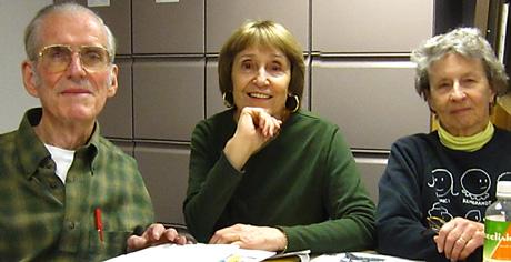 Menlo Park HIstorical Association - Frank Helfrich, Lydia Cooper, Anne DeCarli