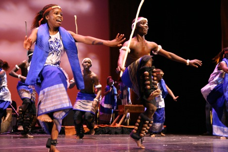 Young, talented performers in Spirit of Uganda