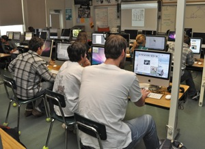 Menlo-Atherton High School Journalism Class
