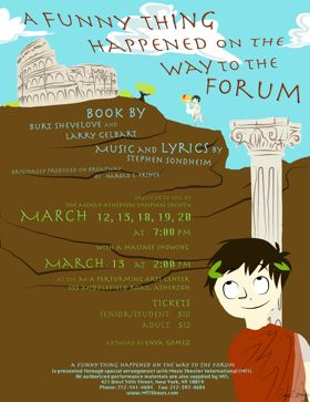 "Post image for ""A Funny Thing Happened on the Way to the Forum"" debuts at Menlo-Atherton Center for Performing Arts"