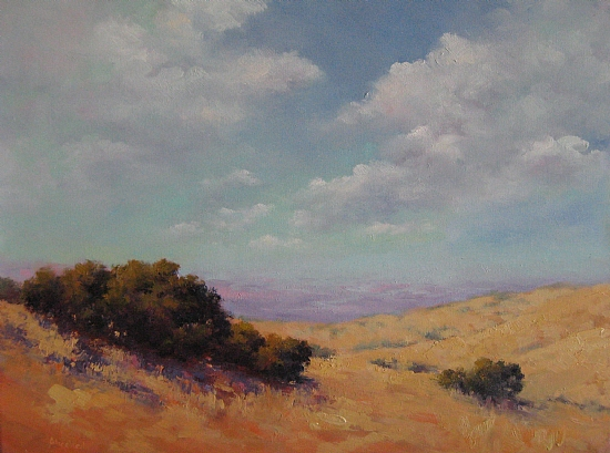 Oil on canvas by Alice Weil - Menlo Park - InMenlo.com