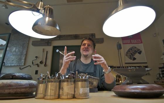 Davide Bigazzi: Ancient art in modern hands