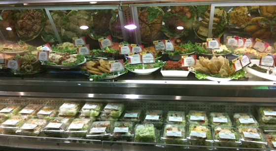 Deli choices at Draeger's market in Menlo Park