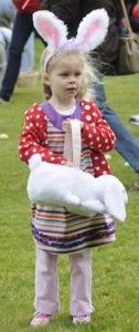 Easter egg hunt in Menlo Pak