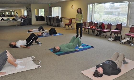 Feldenkrais lessons bring awareness through movement