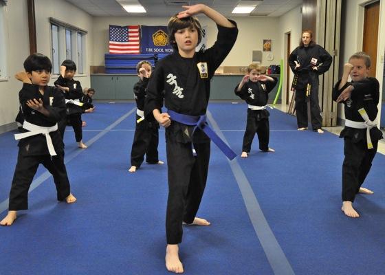 For Kris Quintana, it's martial arts – plus manners