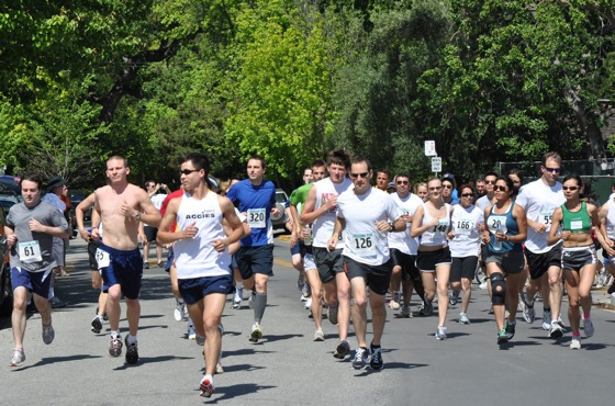 Freedom Run begins in Menlo Park, CA