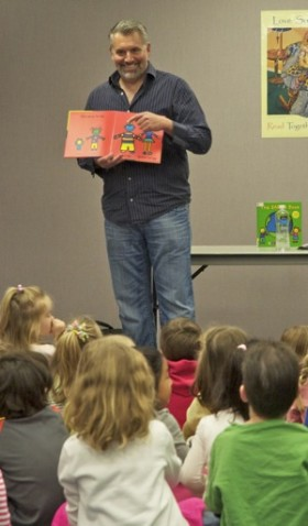 Celebrating Earth Day with children's author Todd Parr