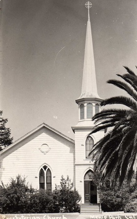 Menlo Park Presbyterian Church: Menlo's first church started life as little white building on Santa Cruz Avenue