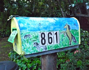 Menlo Park mailbox