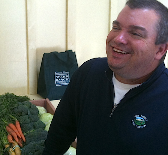 Webb Ranch is now open – with fresh organic produce