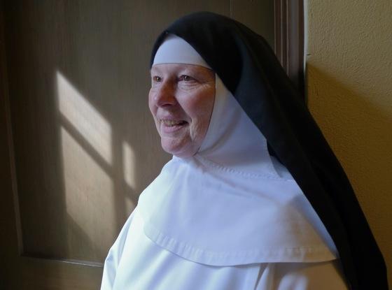 Sister Marie Christine of Corpus Christa Monastery in Menlo Park