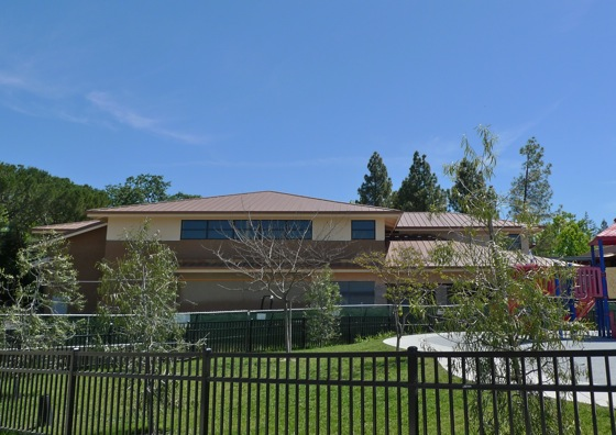 New buildings at Oak Knoll School in Menlo Park