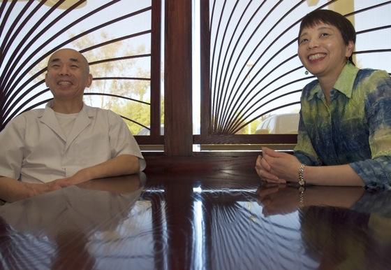 Toshi and Keiko Sakuma of Kaygetsu