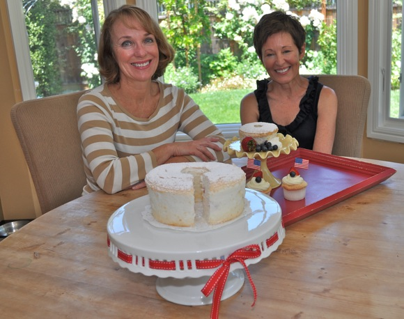 Debbie Umphreys and Gina Rivera, owners of Angel Heart Cakes