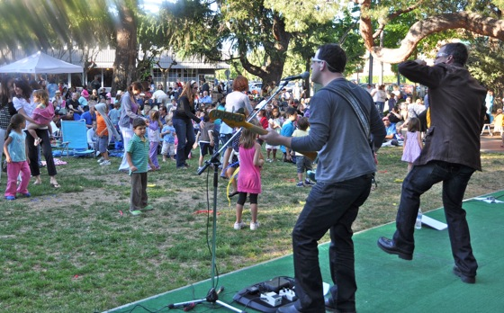 Bono live at Fremont Park – well almost
