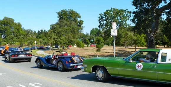 Cars participating in 44th Concours d'Elegance at Stanford