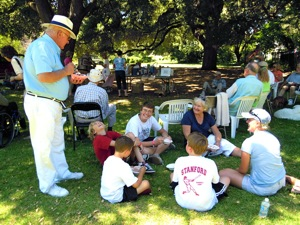 Menlo's historical society holds an ice cream social