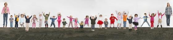 Photographing kids makes Laura Hamilton happy