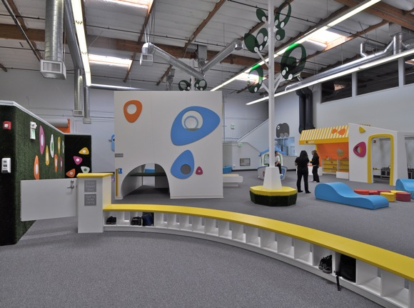 U-Me play space in Menlo Park