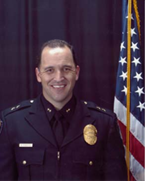 Bryan Roberts is named Menlo Park police chief