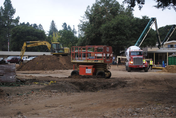 Post image for Encinal and Laurel construction in high gear as school start approaches
