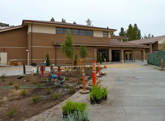 Finishing touches to new Oak Knoll School buildings