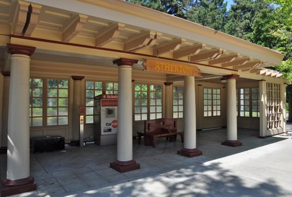 Atherton: Loneliest train station on the Peninsula (almost)
