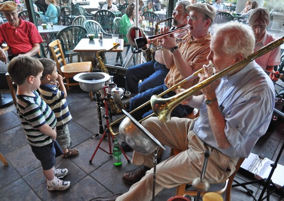 Clint Baker's Cafe Borrone All Stars: Bringing New Orleans jazz to Menlo Park