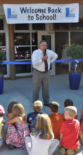 Kids and parents get first look at Laurel School's newly-renovated campus