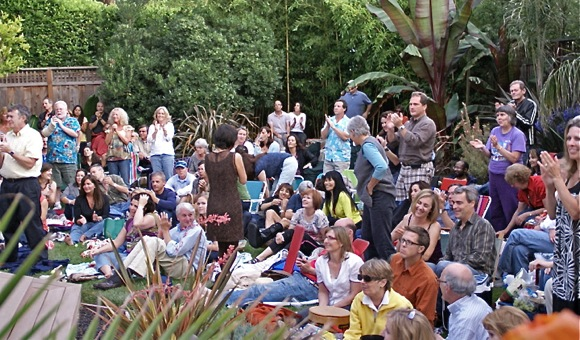 Summer music fun continues in west Menlo backyard