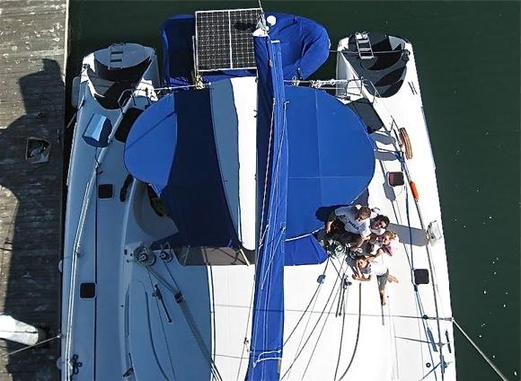 Menlo's Mitgang/Gottesman clan sets sail for year two at sea