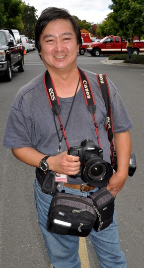 San Francisco Chronicle photographer Paul Chinn