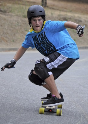 70 skateboarders gather for Menlo Park Slide Jam