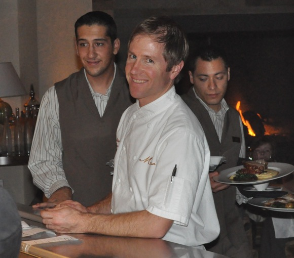 Executive Chef Peter Rudolph of Madera Restaurant in Menlo Park