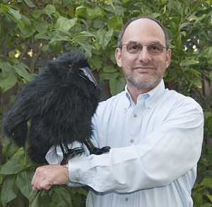 Dr. Doug Kalish and Raven puppet