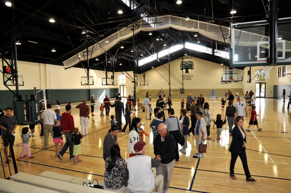 opening of Arrillaga Family Gymnasium
